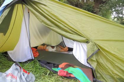 Zelten mit Baby