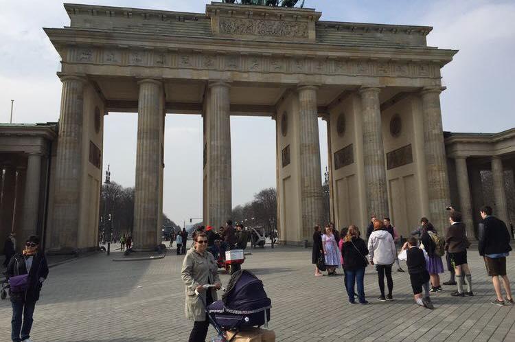 Berlin mit Baby