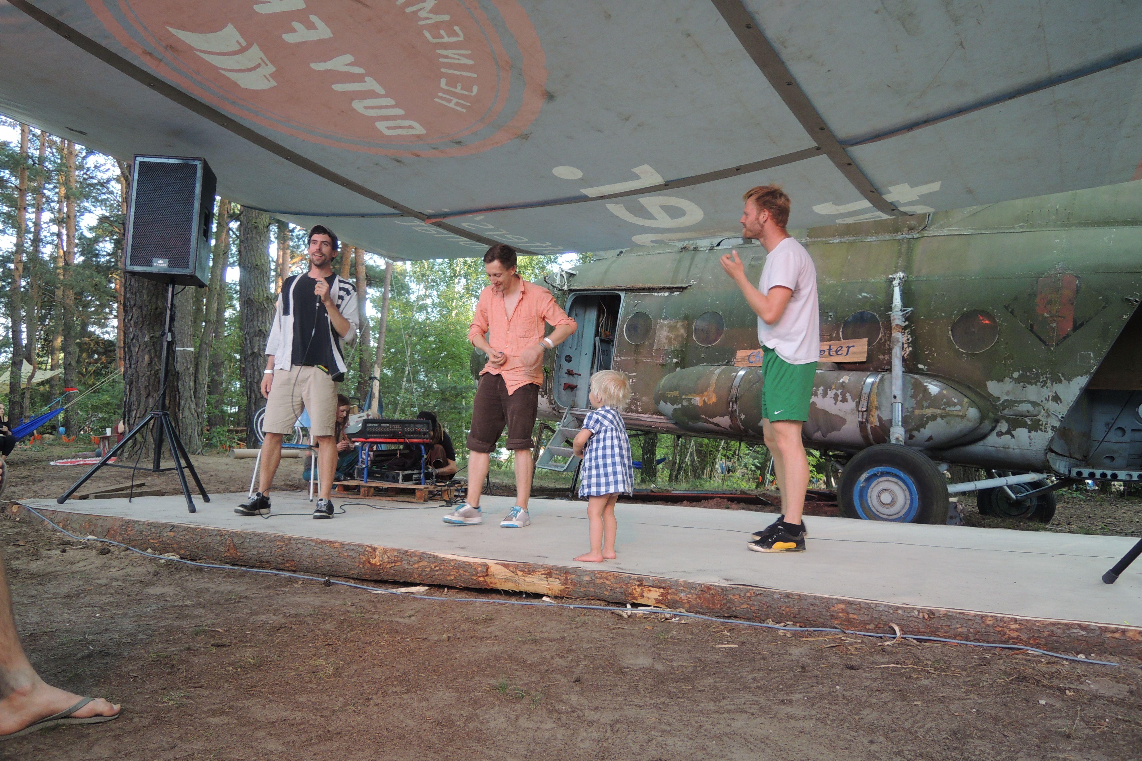 Bühnenprogramm