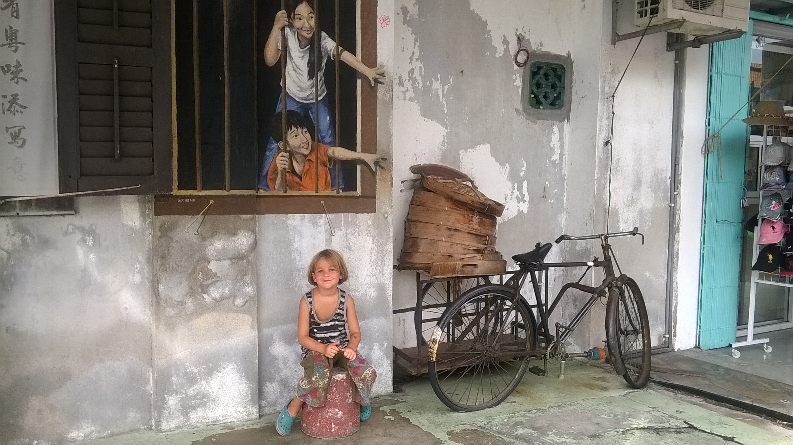 Penang mit Kind, Georgetown