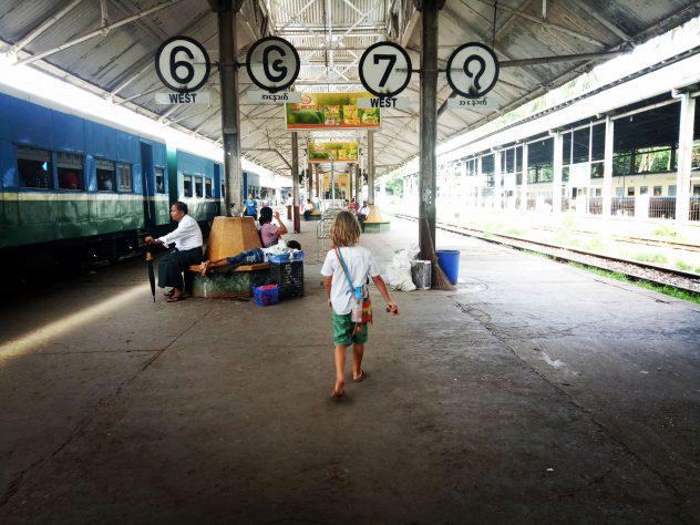 Ringbahn in Yangon