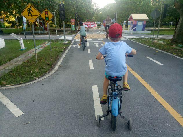 Radtour im Chatuchak Park