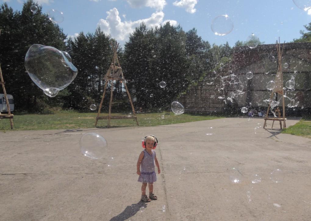 Seifenblasen überall
