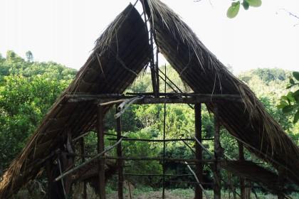 Sahai Nan Farm, der Hausbau