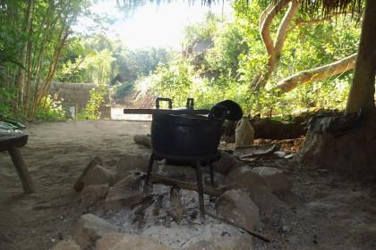 Sahai Nan Farm, Kochstelle