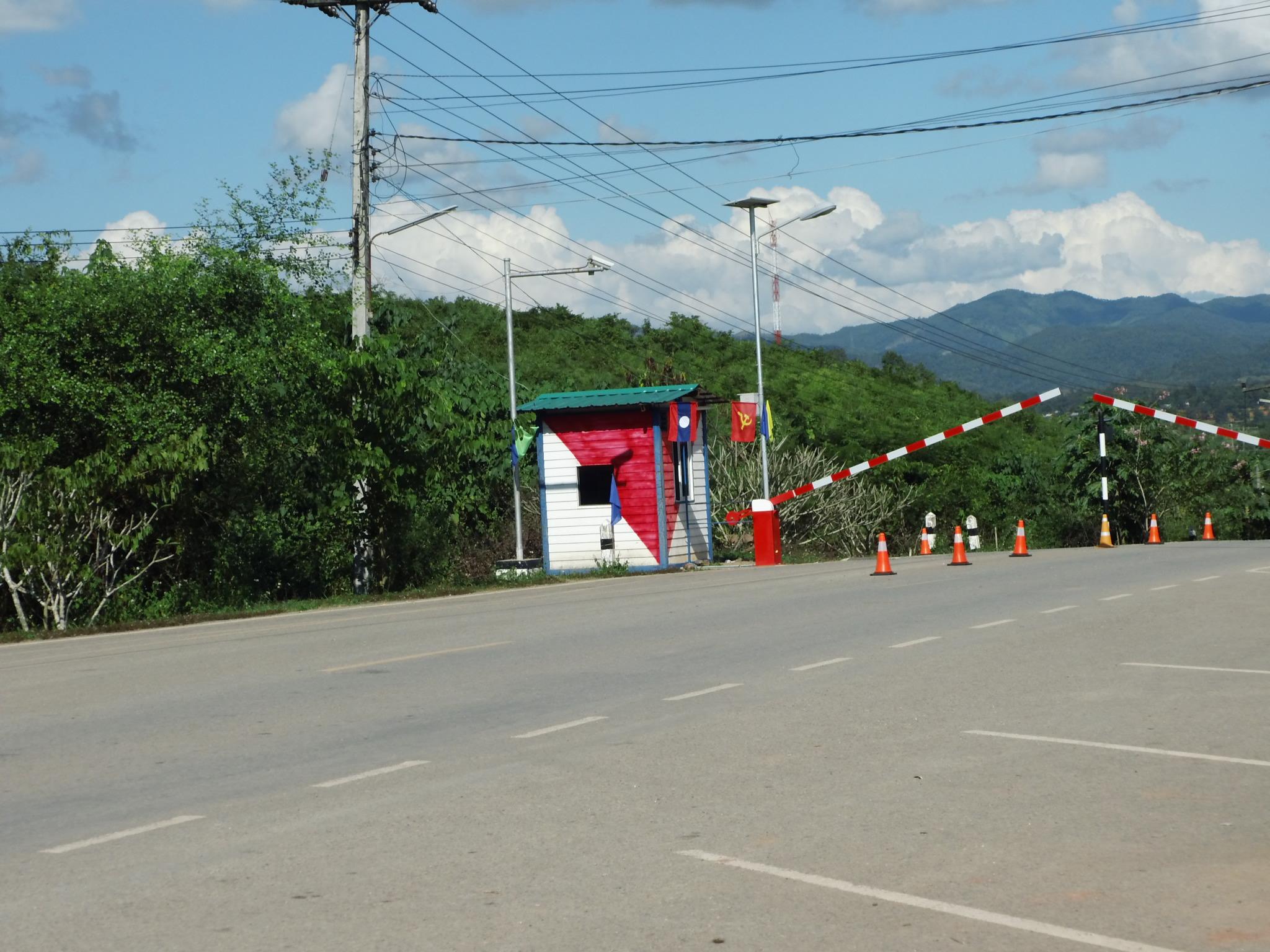 Auf dem Landweg nach Laos