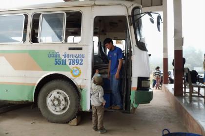 Bus nach Luang Prabang