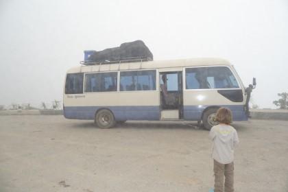 Bus nach Vang Vieng