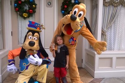 Goofy und Pluto
