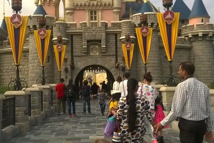 Disneyschloss Hong Kong