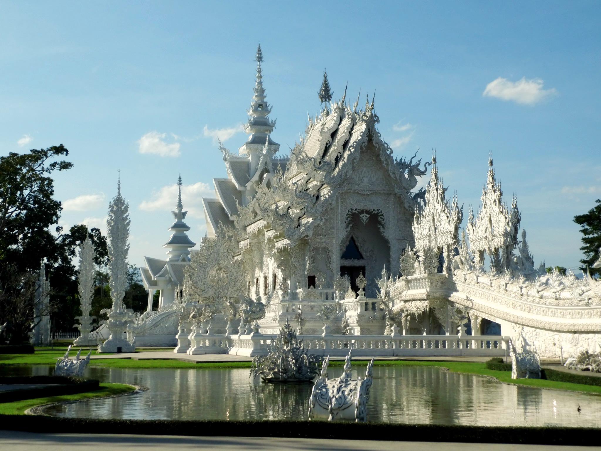 Chiang Rai, Weisser Tempel