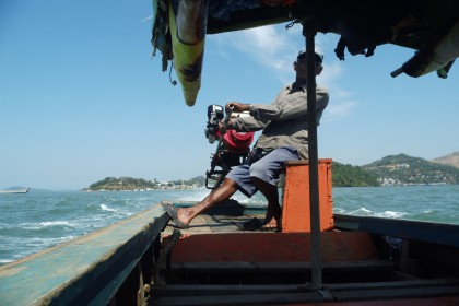 Longtailboat nach Myanmar