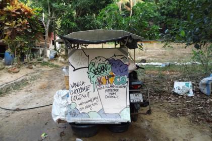 das beste eis auf Koh Phayam