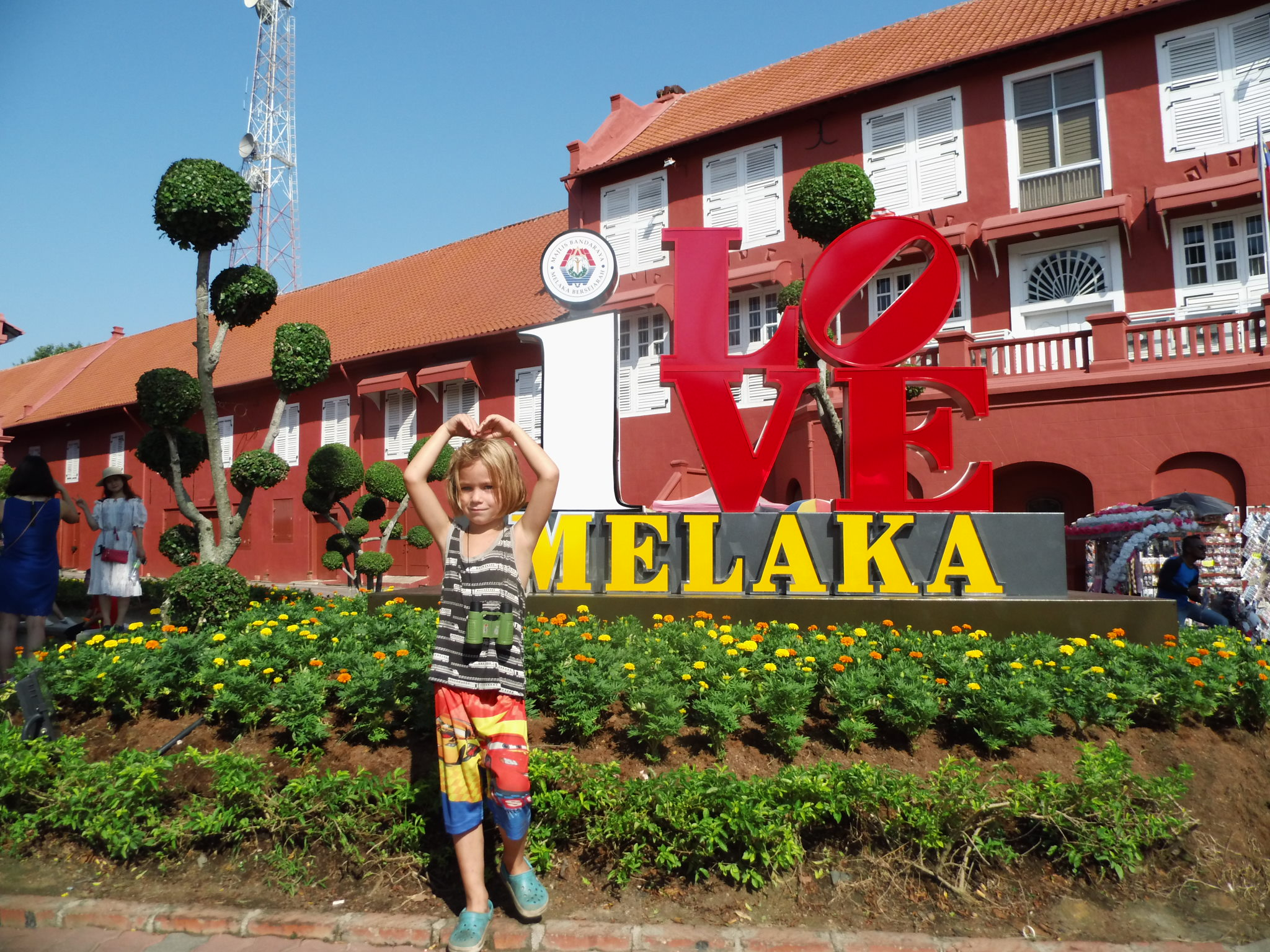 Melaka Dutch Square, Red House Clock Tower