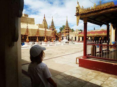 Myanmar mit Kind