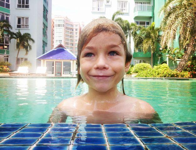 Bangkok mit Kind