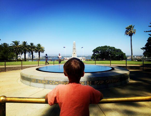 Perth mit Kindern